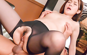 Misuzu Tachibana delights with respect to bushwa in her tiny pussy