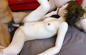 Horny Tsubasa Aihara meets team a few cocks with an increment of gets fucked eternal