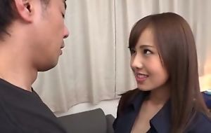 Slim Asian babe with huge horniness gets eaten in foreign lands coupled with deeply fucked