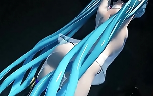 3D MMD 2b Joins Miku in Mad Lovers 3d cartoon coition game